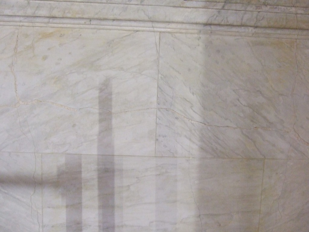 Stuc-marbre dégagé